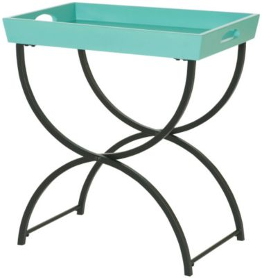 Hammary Furniture Hidden Treasures Tray Top Chairside Table