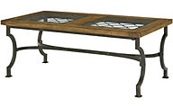 Hammary Furniture Hidden Treasures Diamond Accent Coffee Table