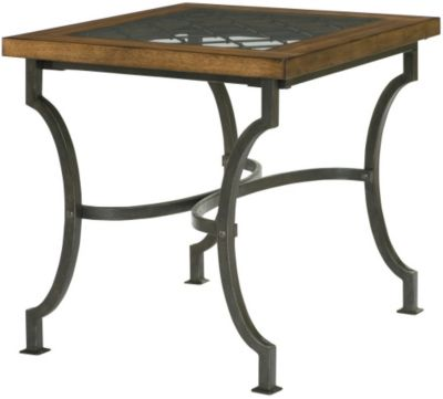 Hammary Furniture Hidden Treasures Diamond Accent End Table