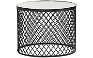 Hammary Furniture Hidden Treasures Round Wire Mesh Coffee Table