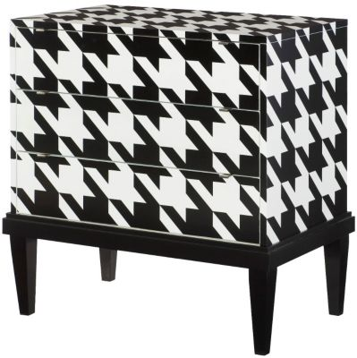 Hammary Furniture Hidden Treasures Houndstooth Accent Chest