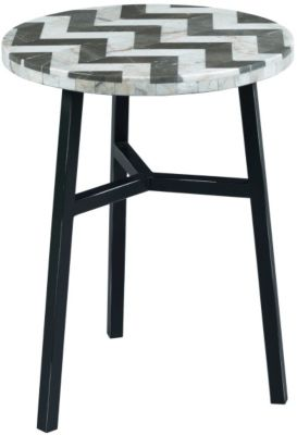 Hammary Furniture Hidden Treasures Chevron Accent Table