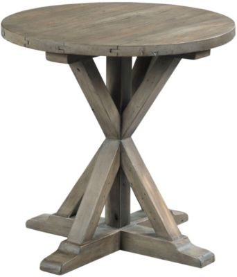 Hammary Furniture Reclamation Round End Table