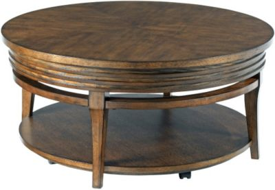 Hammary Furniture Groovy Round Coffee Table