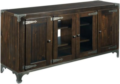 Hammary Furniture Hidden Treasures Power 66-Inch Console
