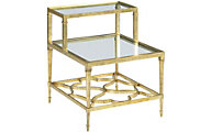 Hammary Furniture Hidden Treasures Golden Leaf End Table