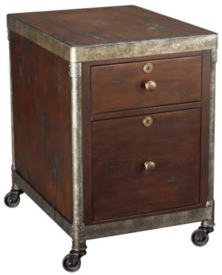 Hammary Furniture Structure Rolling File Cabinet