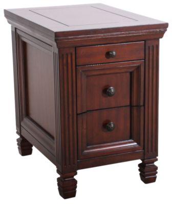 Hammary Furniture Hidden Treasures Storage Chairside Table