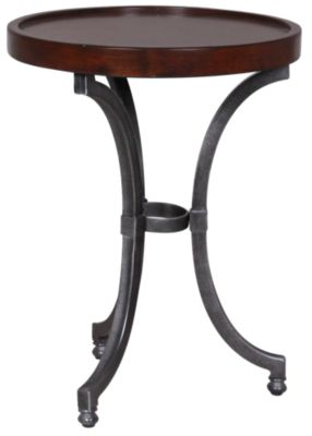 Hammary Furniture Barrow Round Chairside Table