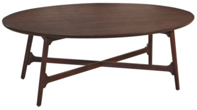 Hammary Furniture Mila Oval Coffee Table