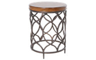 Hammary Furniture Hidden Treasures Round Lamp Table