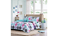 Hampton Hill Carly 4-Piece Full Coverlet Set