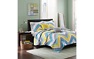 Hampton Hill Elise 5-Piece Full Coverlet Set