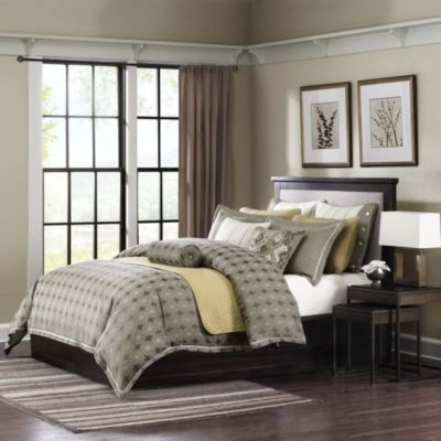 Hampton Hill Flyer 9-Piece King Comforter Set