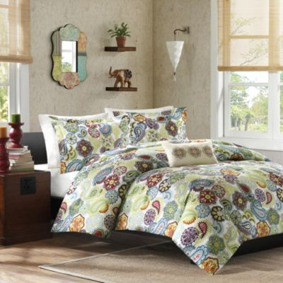 Hampton Hill Tamil Multi 3-Piece Twin Quilt Set