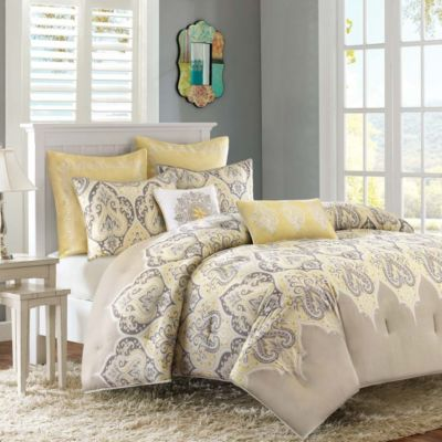 Hampton Hill Nisha 7-Piece King Comforter Set