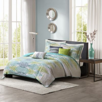 Hampton Hill Sonali 6-Piece Queen Quilted Coverlet Set