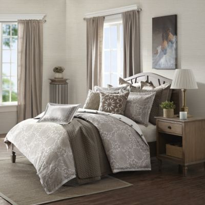 Hampton Hill Sophia 8-Piece Queen Comforter Set