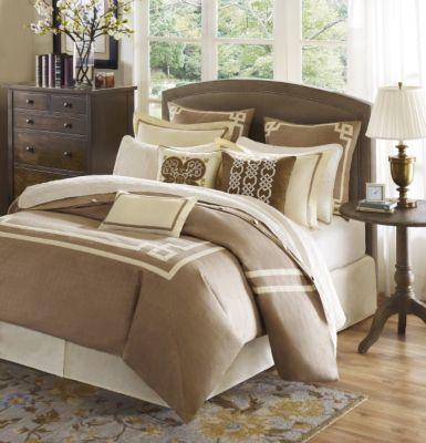 Hampton Hill Highland Park 9-Piece Queen Comforter Set