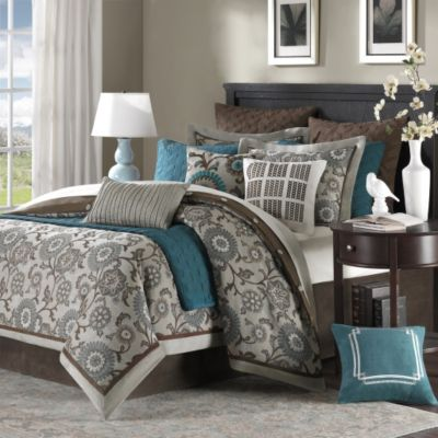 Hampton Hill Bennett Place 9-Piece Queen Comforter Set