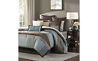 Hampton Hill Lincoln Square 8-Piece Queen Comforter Set