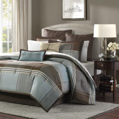 Hampton Hill Lincoln Square 8-Piece King Comforter Set