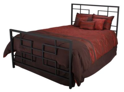 Hillsdale Furniture Terrace Queen Metal Bed