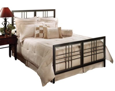 Hillsdale Furniture Tiburon Queen Metal Bed