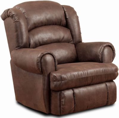 Homestretch XTreme Chocolate Power Wall Recliner