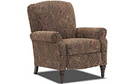 Homestretch Claire Paisley High-Leg Recliner
