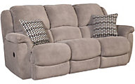 Homestretch Newman Gray Reclining Sofa