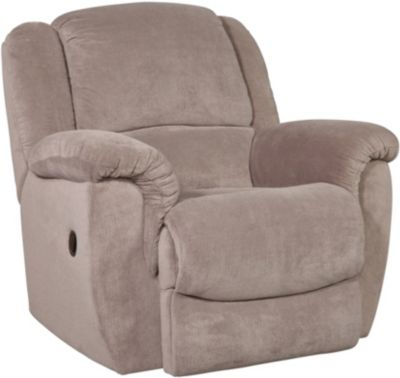 Homestretch Newman Gray Rocker Recliner