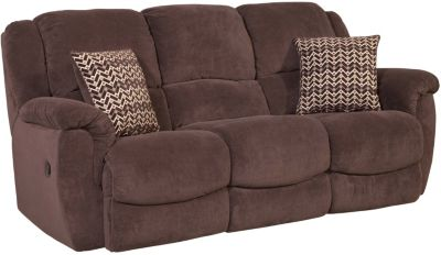 Homestretch Newman Chocolate Power Reclining Sofa