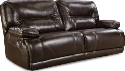 Homestretch Marshall Brown Reclining Sofa