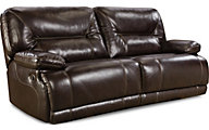 Homestretch Marshall Brown Power Reclining Sofa