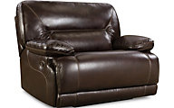 Homestretch Marshall Brown Power Reclining Chair & 1/2