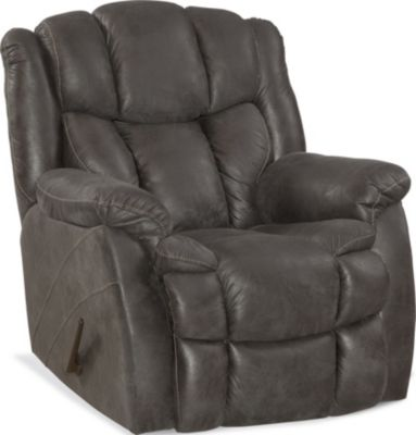 Homestretch Renegade Gray Rocker Recliner