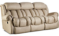 Homestretch Diversery Cream Reclining Sofa