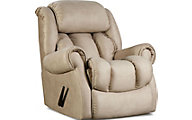 Homestretch Diversery Cream Rocker Recliner
