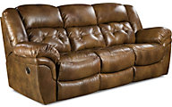 Homestretch Cheyenne Leather Reclining Sofa
