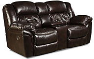 Cheyenne Espresso Leather Power Reclining Loveseat