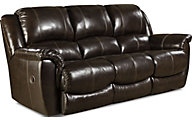 Princeton Leather Reclining Sofa