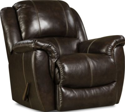 Princeton Leather Rocker Recliner