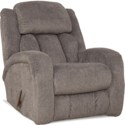 Homestretch Apollo Gray Rocker Recliner