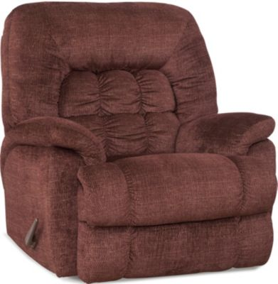 Homestretch Andre Burgundy Big & Tall Recliner
