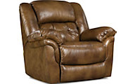 Homestretch Cheyenne Leather Power Rocker Recliner