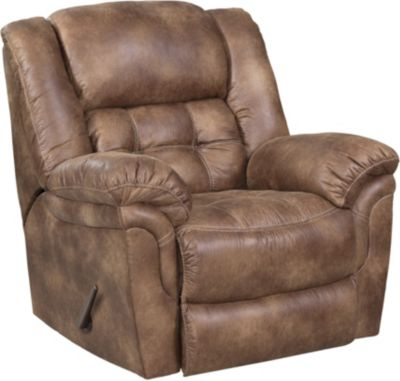 Homestretch Frontier Almond Rocker Recliner