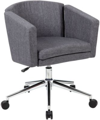 Presidential Seating Metro Club Gray Desk Chair