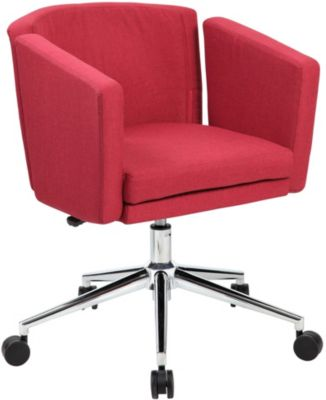 Presidential Seating Metro Club Red Desk Chair