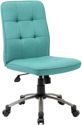 Presidential Seating Modern Turquoise Desk Chair